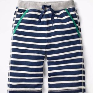 NWT Mini Boden Boys Jersey Baggies Shorts Striped